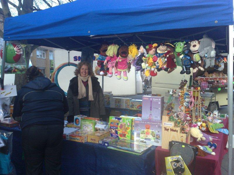 Susan Toy Stall